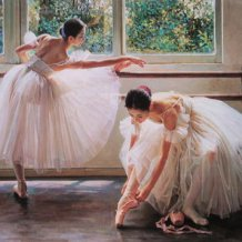 Paintings of Ballerinas