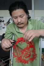 Paper Cutting Artist Changfu Luo