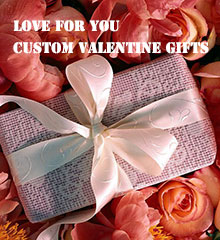 personalized Chinese valentine gifts