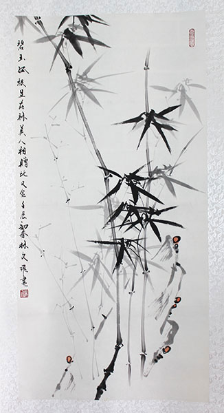 original chinese bamboo paintings