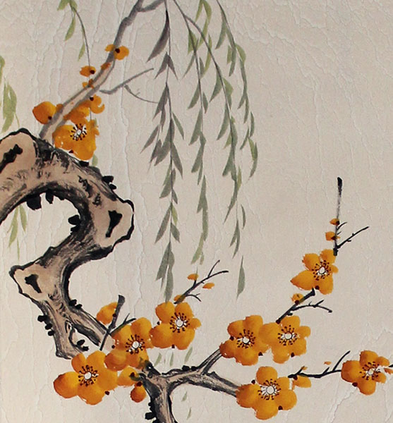 chinese flowers painting art