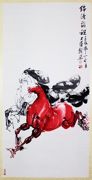 Chinese horse paintings for sale, paintings of horses