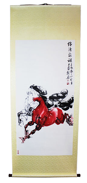 Chinese horse paintings for sale