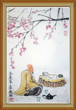 Immerse Original Chinese Philosophy Painting Art