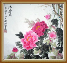 Peony Original Chinese Painting Art Work