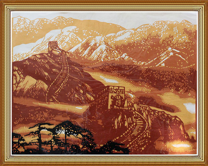 the greatwall chinese paper cutting art