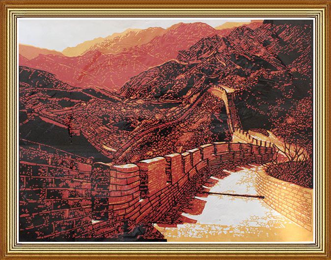 chinese paper cutting art work