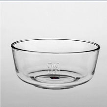 Personalized Engraved Glass Salad Bowl