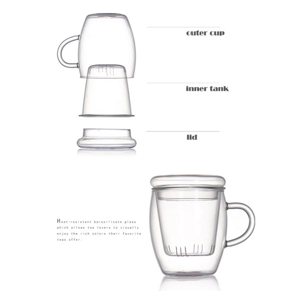 personalized engraved glass tea mug