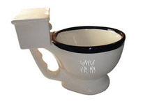 Personalized Engraved Big Mouth Toys Toilet Mug