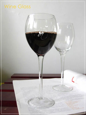 Personalized Engraved Wine Glass / Custom Engraved Goblet