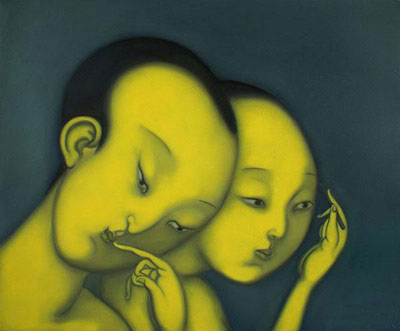 Contemporary Chinese Art Modern Oil Painting