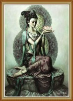 Buddha Custom Hand Painted Chinese Oil Painting