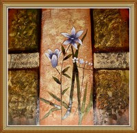 Hand Painted Abstract Oil Painting Flowers