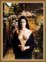 Body Nude Chinese Girl Oil Painting