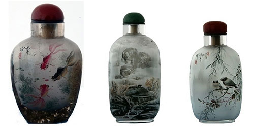 inner painting inside painted snuff bottles