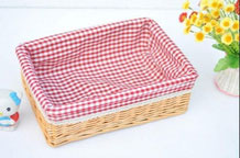 Large Hand Woven Wicker Storage Basket, Bin, Container